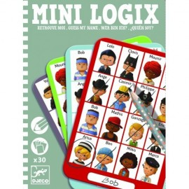 Mini logix Djeco ghiceste personajul (baieti)