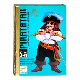 Joc de carti strategie pentru baieti Djeco Piratatak
