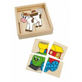 "Omfal Mini puzzle ""Happy Engine"""