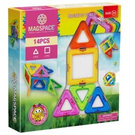 Joc de constructie magnetic Magic Power
