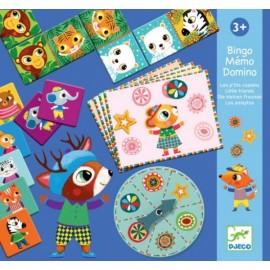 Bingo Memo Domino Djeco