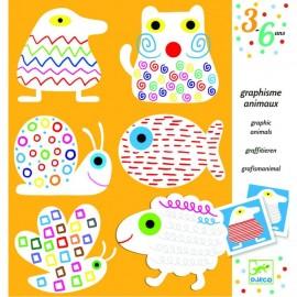 Planse de de colorat cu animale