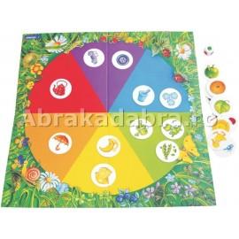 Joc educativ culorile curcubeului