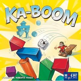 Joc de indemanare cu turnuri si carti Ka-Woom