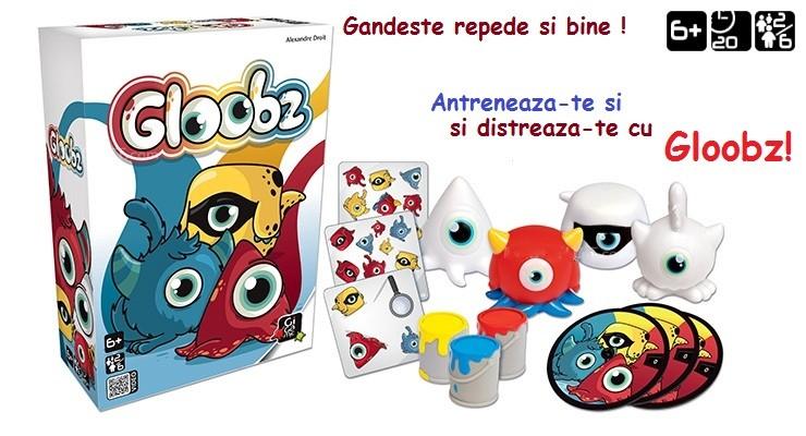Joc Gloobz - amuzament si antrenament