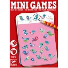 Mini games Djeco piesa lipsa