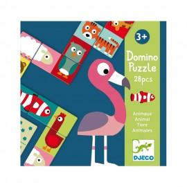 Domino cu animale tip puzzle Djeco