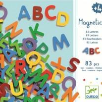 Litere magnetice 83 piese Djeco