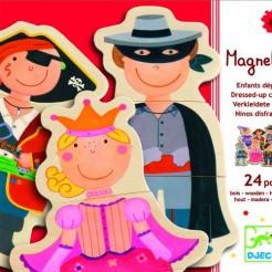 Joc cu magneti Djeco Carnaval