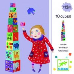 Turn de construit Djeco cu animale