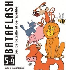 Joc de carti copii Razboi pe animale Djeco Bataflash