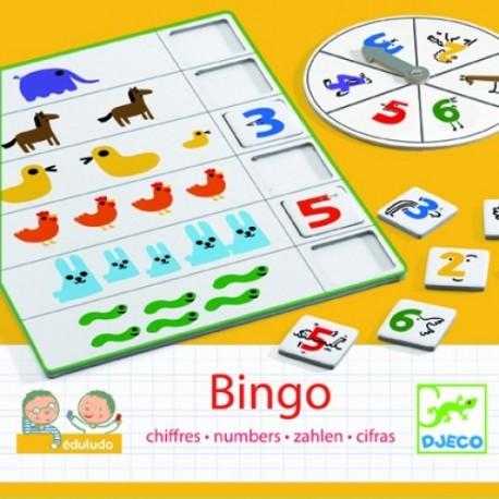 Joc educativ cu numere Bingo Djeco