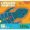Joc domino cu piese care cad Lezard Domino