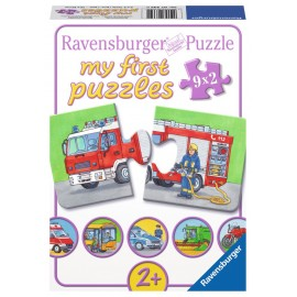 Puzzle cu masinute pentru copii mici