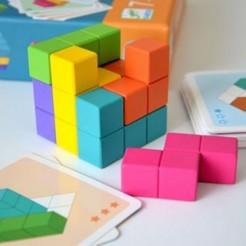 Joc de logica Cubissimo Djeco