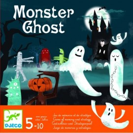 Joc de memorie și strategie Monster Ghost