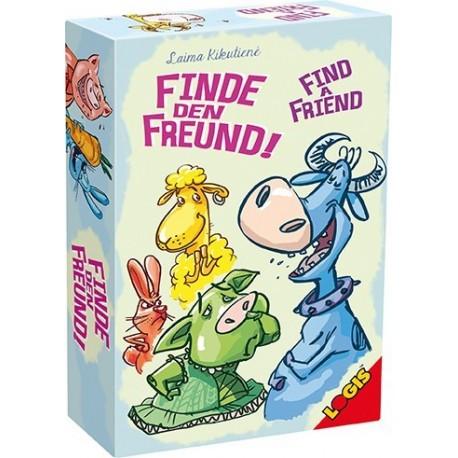 Joc educativ de carti pentru copii Gaseste-ti un prieten