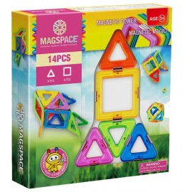Joc de constructie magnetic Magic Power