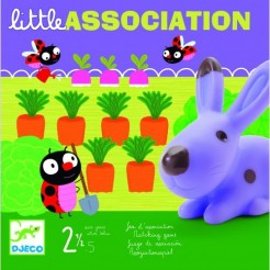 Joc de asociere educativ Little association Djeco