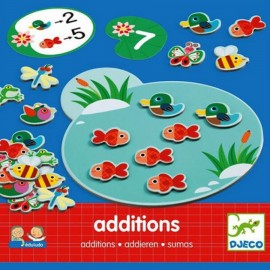 Joc cu calcule Eduludo Addition Djeco