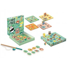 Ludo park Djeco, primele 4 jocuri