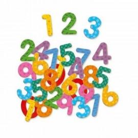 Cifre magnetice colorate pentru copii