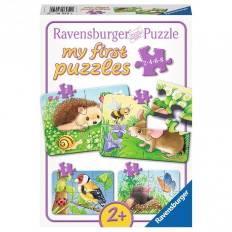 Primul meu puzzle cu animale salbatice