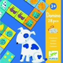 Joc domino pentru copii cu animale