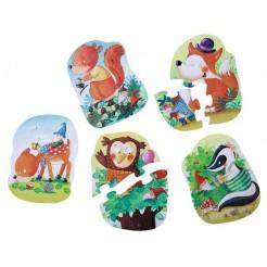 Puzzle HABA animale din padure