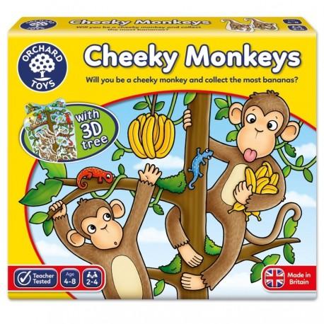Joc educativ 3D Cheeky Monkeys