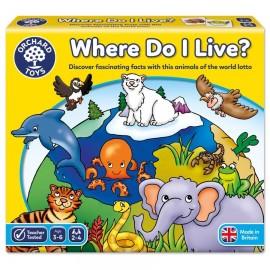 Joc loto Where Do I Live