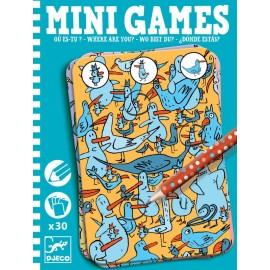 Mini games Djeco gaseste personajul