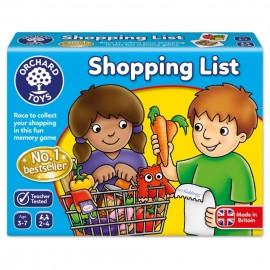 Joc Lista de cumparaturi (Shopping List) Orchard Toys