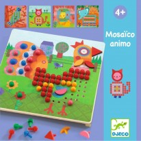 Joc mozaic cu piese mari Djeco