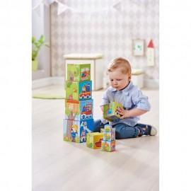 Turn Montessori 10 cuburi