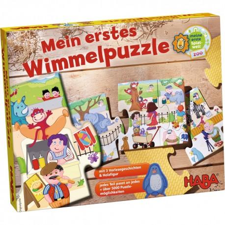Puzzle de podea piese mari Gradina zoologica