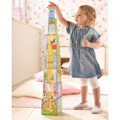 Cuburi turn suprapuse pentru fetite