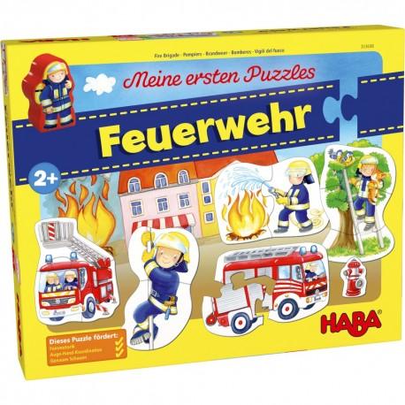 Puzzle pompieri 2 ani