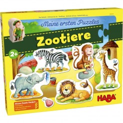 Puzzle animale salbatice Zoo