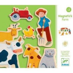 Joc magnetic Djeco Ferma
