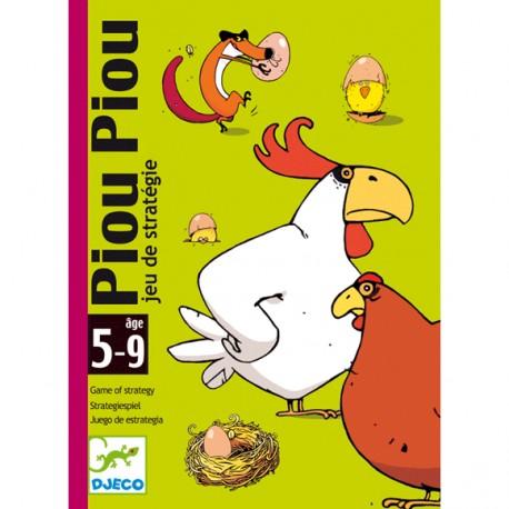 Joc de carti de strategie pentru copii Piu Piu