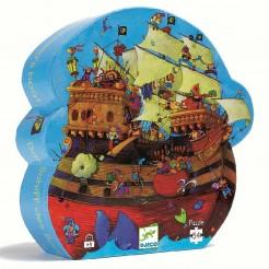 Puzzle cu pirati Corabia Barbarossa