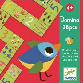 Joc domino cu numere Djeco