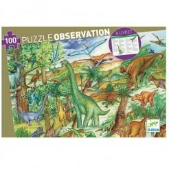 Puzzle cu dinozauri