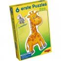 Puzzle cu piese mari animale ZOO