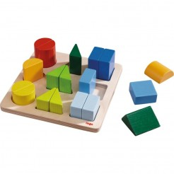 Joc de sortare cu forme geometrice din lemn