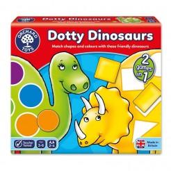 Joc educativ Dinozaurii - forme si culori