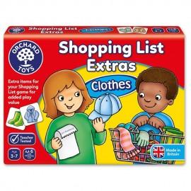 Lista de cumparaturi - Haine