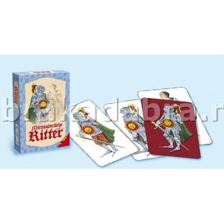 Joc de carti educativ Cavalerii medievali