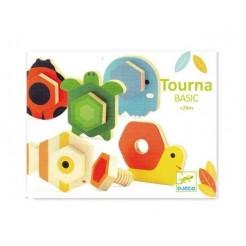 Animale din lemn cu surub TournaBasic